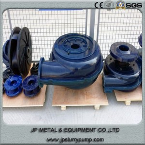 PU material liner and impeller