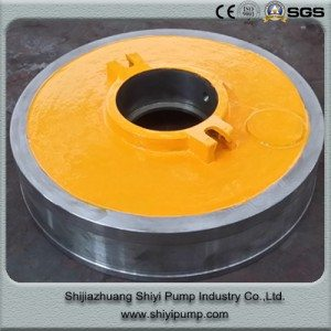 15 Years Manufacturer A05 High Chrome Expeller Ring  to Manila Manufacturers